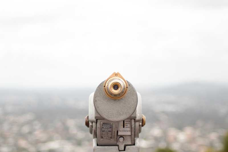 Closeup photography of coin operated telescope by socialcut @ https://unsplash.com/
